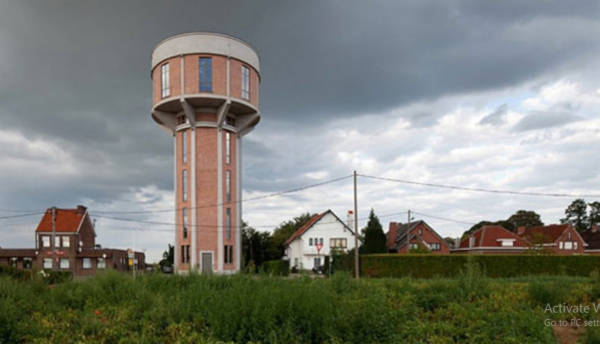 2. Water Tower House