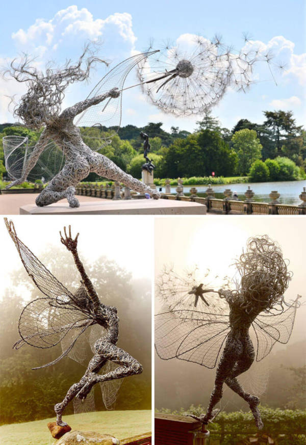 2. Wire Fairies By Robin Wight