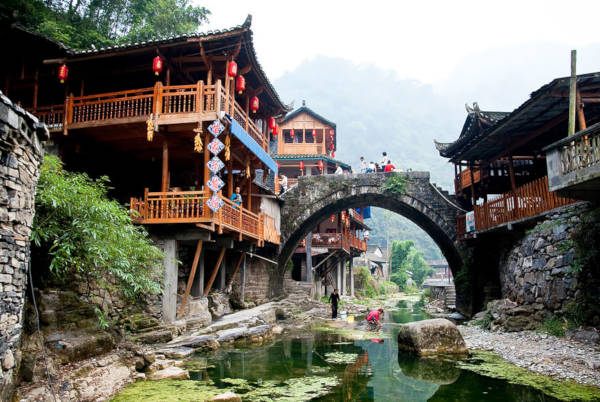 22. Dehang in the Hunan province of China