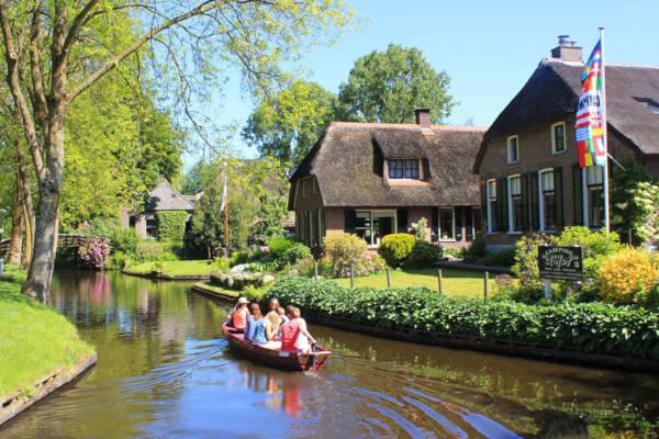 23. Giethoorn in The Netherlands