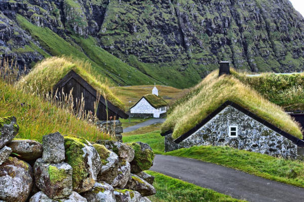 27. Gasadalur in the Faroe Islands