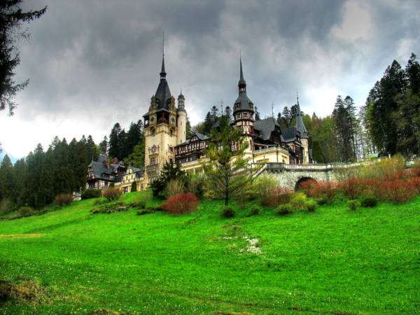 28. Peles Castle in Sinaia, Romania