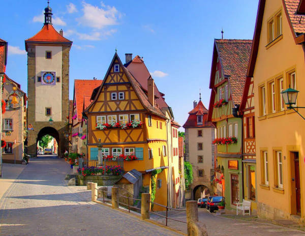 3. Rothenburg in Germany