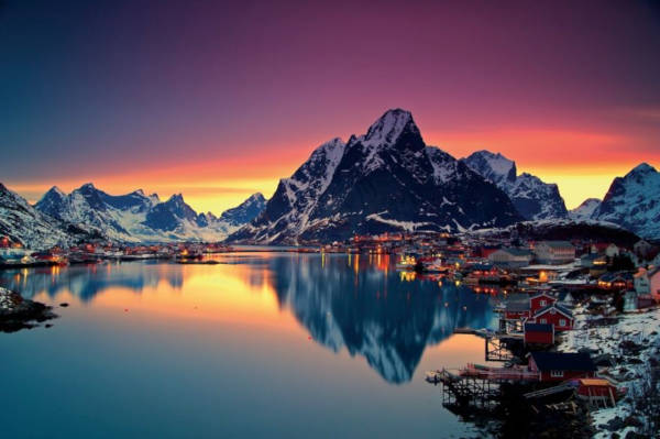 30. Reine in Norway