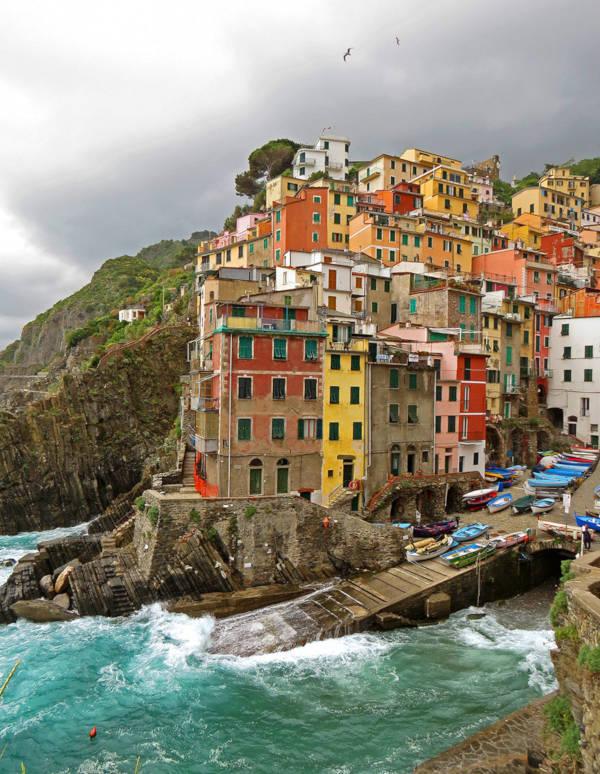 38. Riomaggiore in Italy