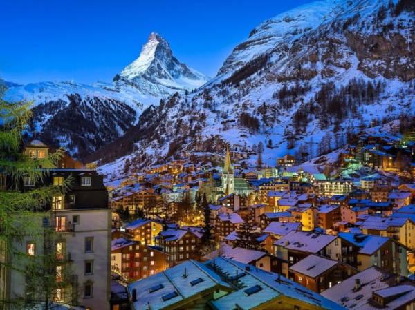 39. Zermatt in Switzerland