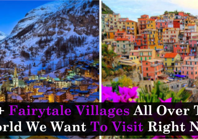 40+ Fairytale Villages All Over The World We Want To Visit Right Now