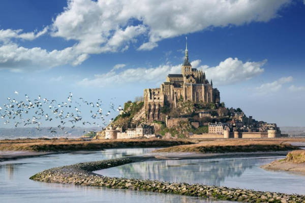 41. Mont Saint-Michel in France