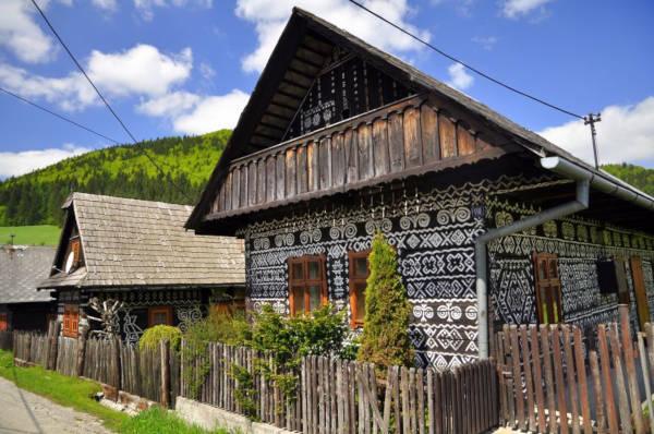 43. Čičmany, Slovakia