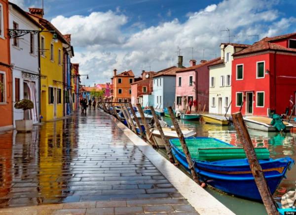 44. Burano in Venice, Italy