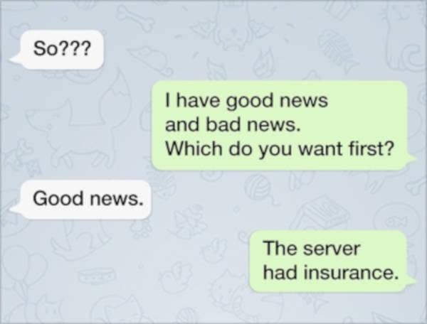 5. Bad News