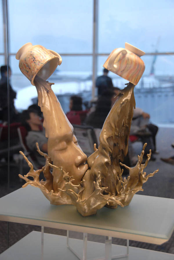 6. Coffee Kiss By Johnson Tsang