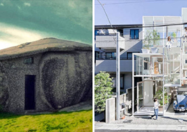 8 Unusual Houses Where People Comfortably Live