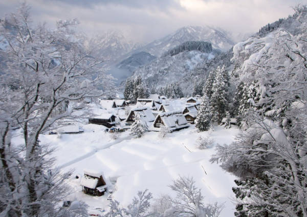 8. Gokayama in Japan