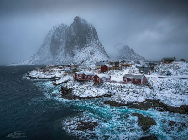 9. Hamnoy in Norway