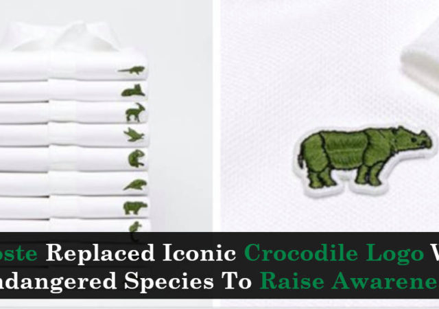 Lacoste Replaced Iconic Crocodile Logo With Endangered Species To Raise Awareness