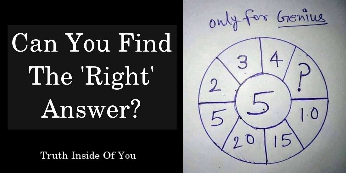 can you find the right answer?