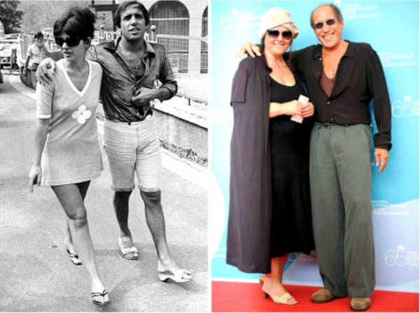 1. Adriano Celentano and Claudia Mori