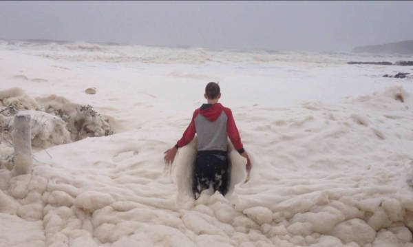 10. A Sudsy Sea