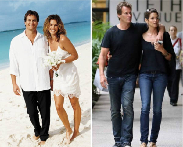 11. Cindy Crawford and Rande Gerber