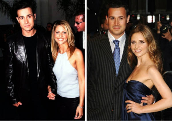 12. Sarah Michelle Gellar and Freddie Prinze Jr.