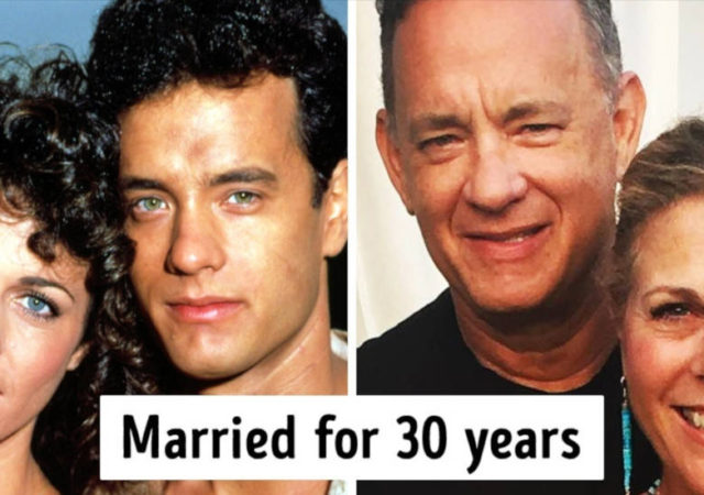 13 Then And Now Photos Of Famous Women With Their Husbands