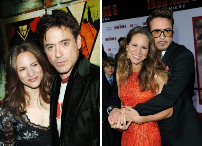 16. Robert Downey Jr. and Susan Levin