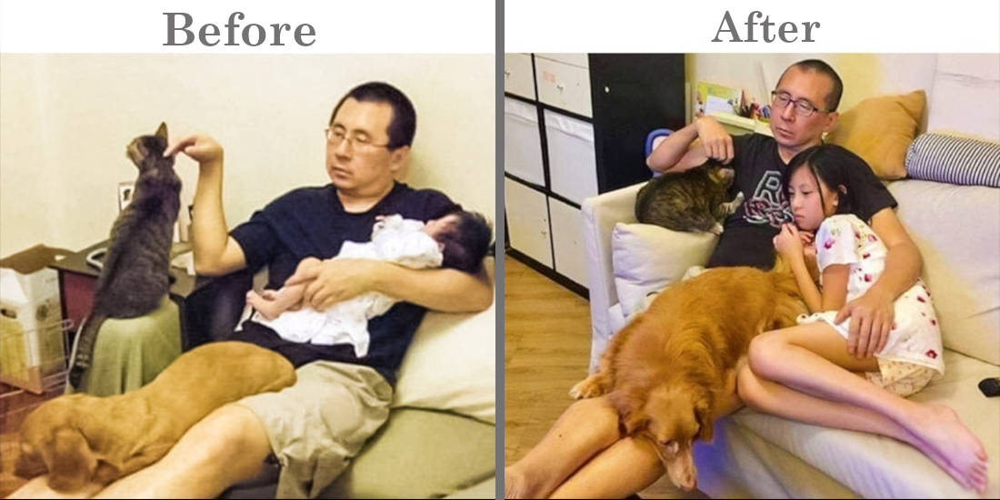 19 Before & After Photos That Show The Passing Of Time