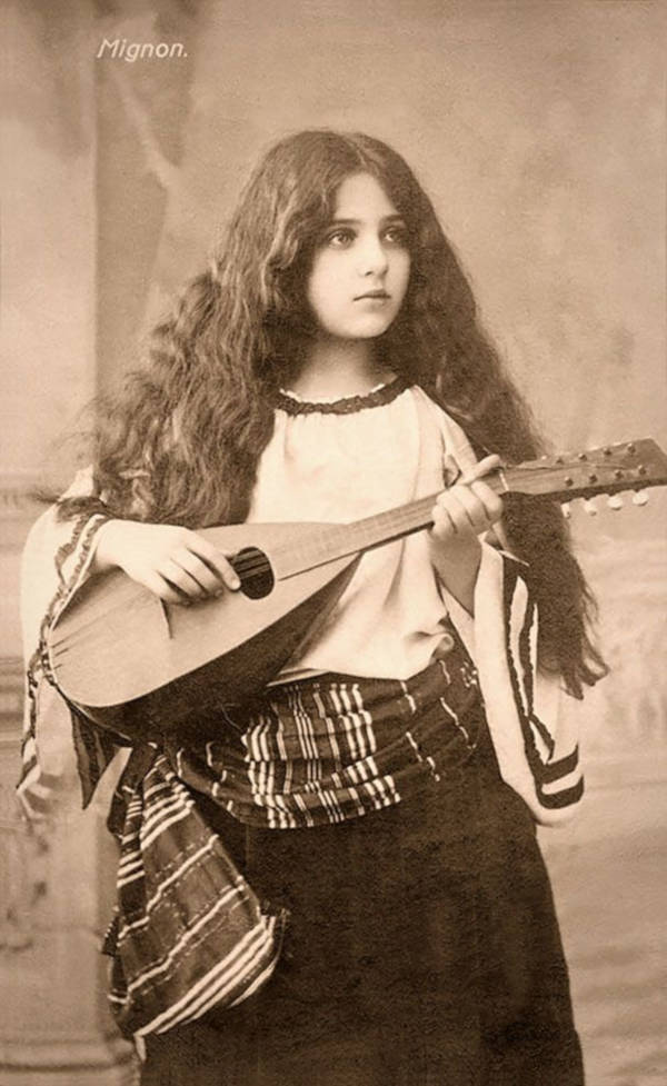 19. Gypsy Girl With Mandolin