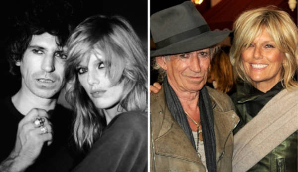 2. Keith Richards and Patti Hansen