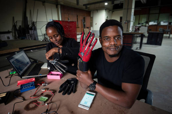 25-Year-Old Kenyan Invented Smart Gloves That Convert Sign Language Into Audio Speech - 1