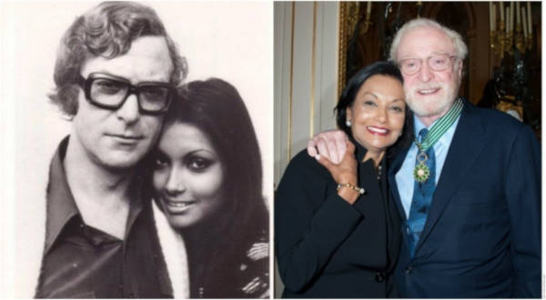 3. Michael Caine and Shakira Baksh