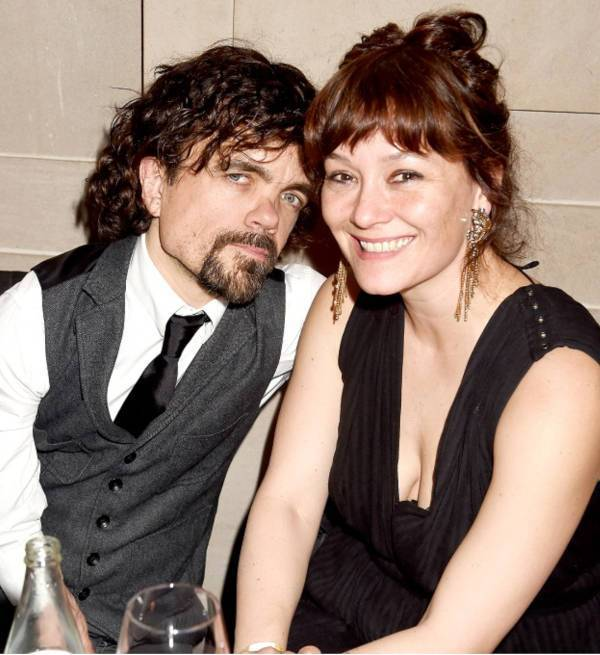 5. Peter Dinklage And Erica Schmidt