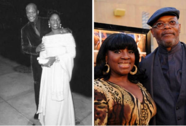 5. Samuel L. Jackson and LaTanya Richardson