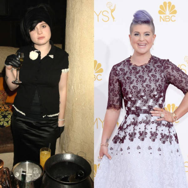 Celebrity Weight Loss TransformationsKelly Osbourne Weight Gain 2019