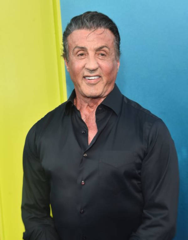 9. Worth $400 million – Sylvester Stallone