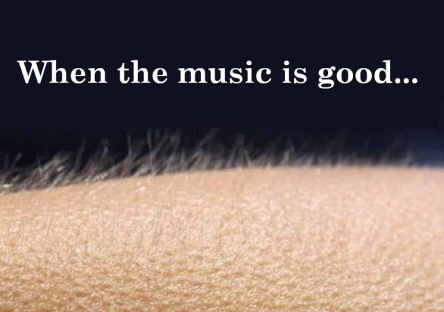 Do You Get Goosebumps From Music You Might Have Unique Brain