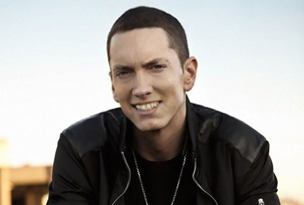 Guy Makes Eminem Smile By Editing His Photos And They Look Better Now -- 10