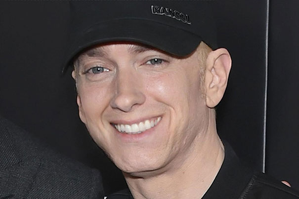 Guy Makes Eminem Smile By Editing His Photos And They Look Better Now -- 3