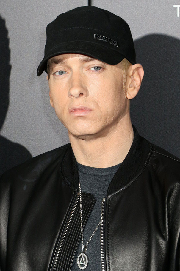 Guy Makes Eminem Smile By Editing His Photos And They Look Better Now - 4