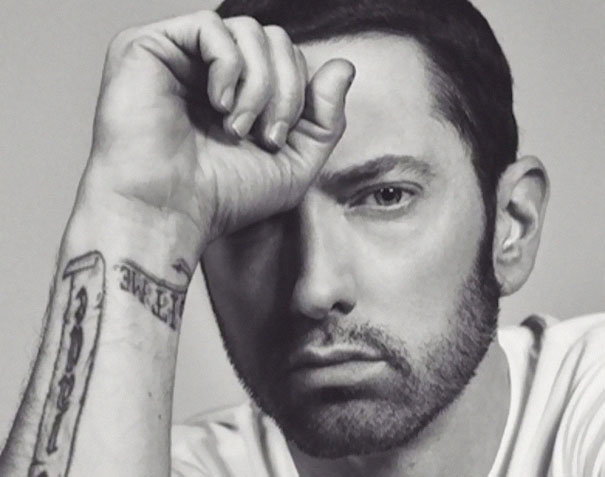 Guy Makes Eminem Smile By Editing His Photos And They Look Better Now - 6