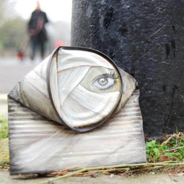 Street Artist Leaves His Paintings For People To Find After Getting Rejected By Art Galleries - 10