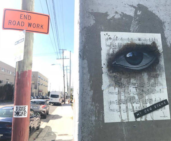 Street Artist Leaves His Paintings For People To Find After Getting Rejected By Art Galleries - 21