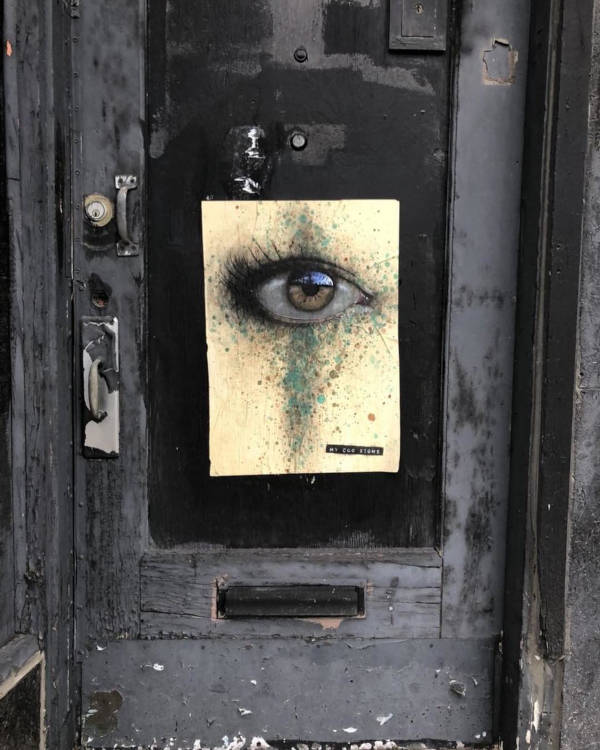 Street Artist Leaves His Paintings For People To Find After Getting Rejected By Art Galleries - 24
