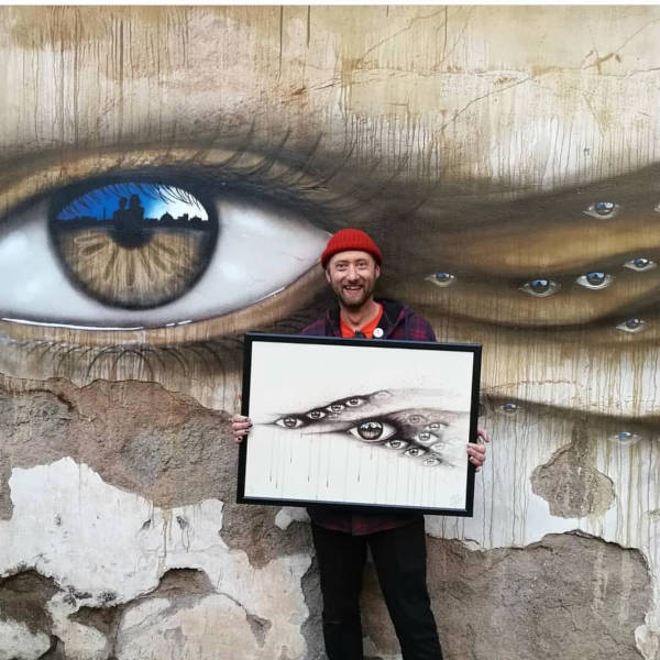 Street Artist Leaves His Paintings For People To Find After Getting Rejected By Art Galleries - 29