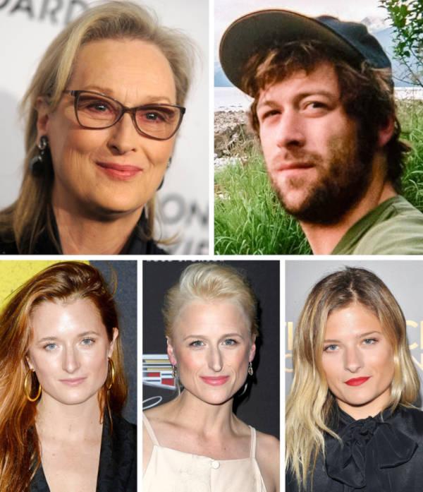 11. The children of Meryl Streep