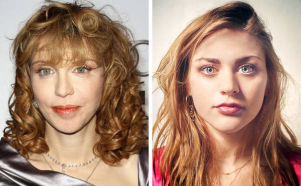15. The daughter of Courtney Love