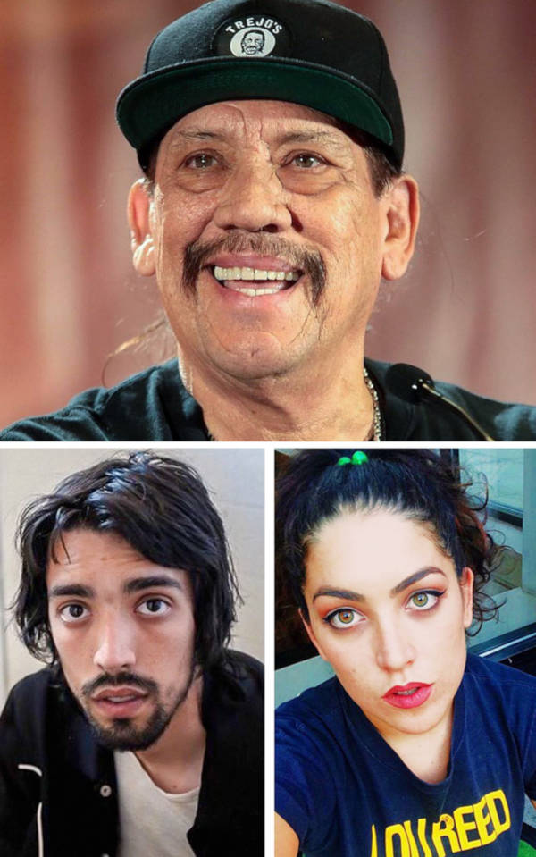 5. The daughter and son of Danny Trejo