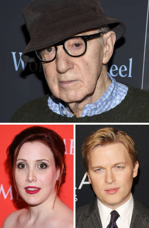 9. The daughter and son of Woody Allen