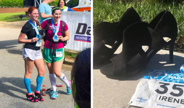 1. Stilettos And Marathons